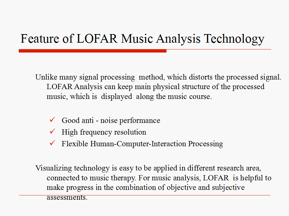 Visualizing Analysis of Therapeutic Music Heavenly Tone 19