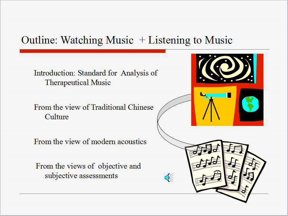 Visualizing Analysis of Therapeutic Music Heavenly Tone 2